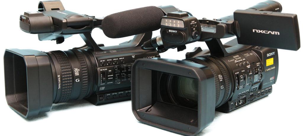 映像・動画制作の背景画像